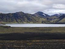 Frostastadavatn, zuiden van IJsland Stock Foto's