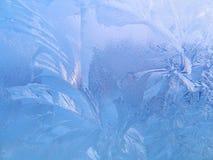 frostat exponeringsglas Arkivfoto