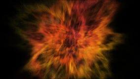 Frostbewegungsexplosion des hellen gelben und goldenen Pulvers und der Farbe für Holi vektor abbildung