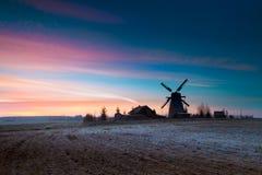 Free Frosted Autumn Sunrise Near Dudutki Village, Minsk Region, Belarus Royalty Free Stock Photo - 129672775