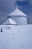 Frosted chapel Stock Photography