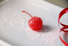 Frosted Cherry Royalty Free Stock Photos