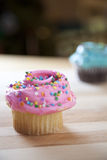 Frosted cupcakes Royalty Free Stock Photos