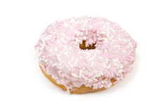 Frosted doughnut Royalty Free Stock Photography