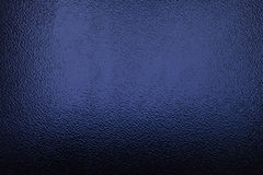 Frosted glass deep blue Royalty Free Stock Images
