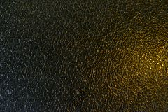 Frosted glass texture black and gold background Royalty Free Stock Photos