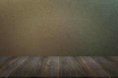 Frosted glass texture with wood terrace. Frosted glass texture background natural color with wood terrace Stock Photography