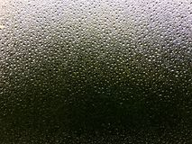The frosted glass on the window, the distance for the outdoor fuzzy landscape Royalty Free Stock Images
