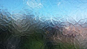 Frosted glass. Frosted window pane of glass Stock Images