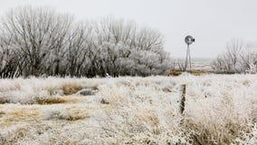 Frozen Wind stock image