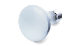 Frosted light bulb Stock Photo