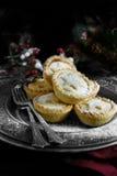 Frosted mince pie Zdjęcie Stock