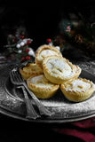 Frosted Mince Pies Stock Photo
