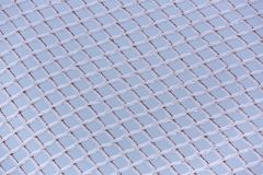 Frosted net Royalty Free Stock Images