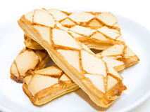 Frosted Puff Pastry. Stock Photos