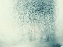 Frosted window Royalty Free Stock Photo