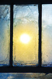 Frosted Window Stock Photography