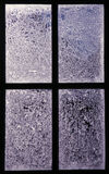 Frosted Window Panes Royalty Free Stock Photo