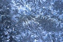 frostfönster royaltyfri foto