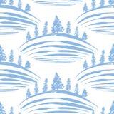 Frostiga kullar Royaltyfri Illustrationer