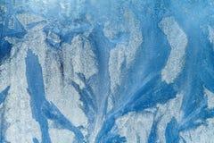 frostigt modellfönster härligt naturligt för bakgrund som bakgrund är kan använda vintern för illustrationen temat Närbild royaltyfri illustrationer
