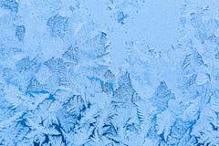 frostmodell p? f?nster Magiskt tidbegrepp H?rligt texturslut upp arkivfoton