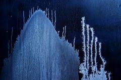 Frostwork; цветок заморозка стоковые изображения