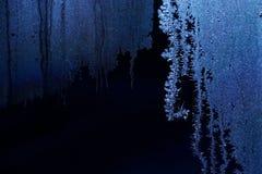 Frostwork; цветок заморозка стоковая фотография rf