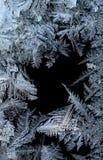 frostwork Royaltyfria Bilder