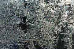 Frostwork Imágenes de archivo libres de regalías