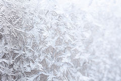 Frostwork (selective focus used) Stock Images