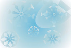 Frosty background. Tender background - winter theme Stock Photography