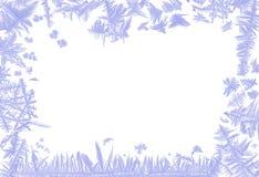 Frosty border Stock Image