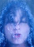 Frosty breath Royalty Free Stock Photo
