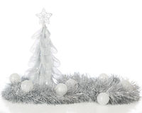 Frosty Christmas Still Life Foto de archivo