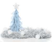 Frosty Christmas Still Life Stock Photography
