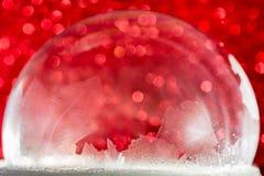 Frosty christmas winter pattern. stock photography