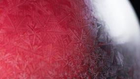 Frosty christmas winter pattern. stock image