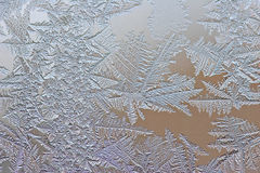 Frosty design Stock Photography