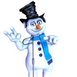 Frosty DJ Royalty Free Stock Photography