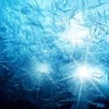 Frosty fine pattern Royalty Free Stock Image