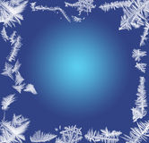Frosty frame Royalty Free Stock Photography