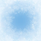 Frosty frame Royalty Free Stock Images