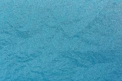 Frosty Glass Ice Background naturale blu Natale di natale di inverno Fotografia Stock Libera da Diritti