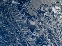 Frosty Ice Crystals Royalty Free Stock Photography