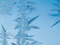Frosty Ice Crystals Stock Photo