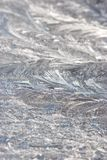 Frosty icy pattern background Royalty Free Stock Images
