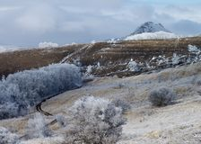 Frosty Landscape Royalty Free Stock Images
