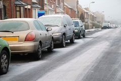 Frosty morning, England Royalty Free Stock Images