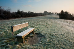 Frosty Morning in England Stock Photography